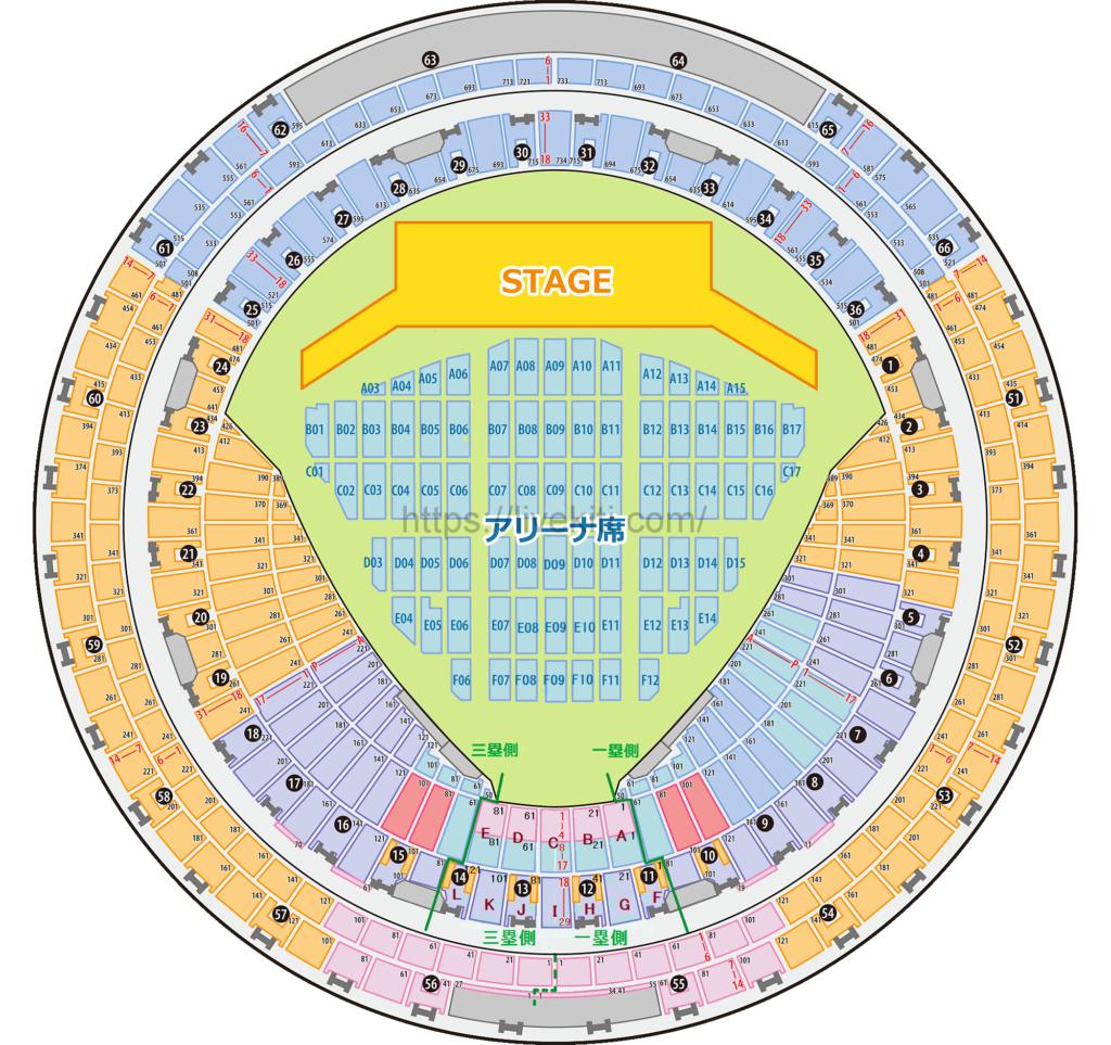 BLACK PINK,座席表|BLACKPINK 2019,2020 WORLD TOUR