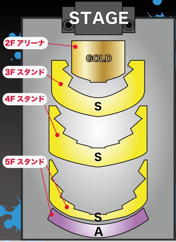 座席 シアター 東京 表 ガーデン